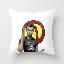 Handsome Jack Bullet Club Throw Pillow