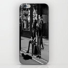 Busking on Grafton iPhone Skin