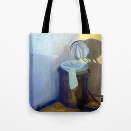 Portrait of a Trashcan Tote Bag