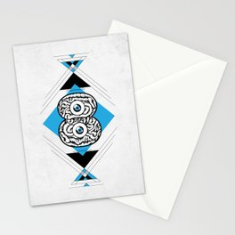 8 Brain Stationery Cards