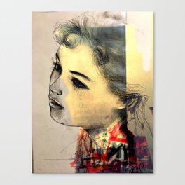 Sandra Xie Canvas Print