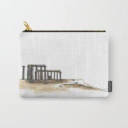 Greek Temple Ruins Carry-All Pouch