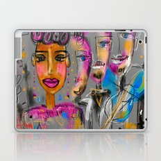 Feeling the music Laptop & iPad Skin