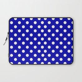 Blue Polka Laptop Sleeve