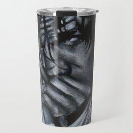 Dean Ambrose - Black & White Travel Mug