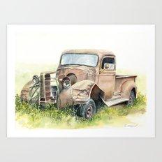1938 Chevy Truck Art Print