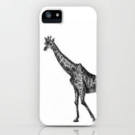 a giraffe called LongNeky iPhone Case