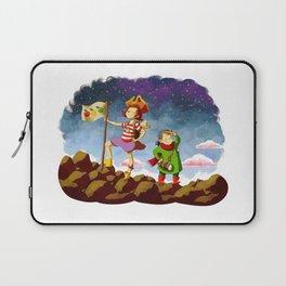Etienne & Phil - Partons à l'aventure Laptop Sleeve