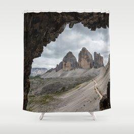Dolomites 27 - Italy Shower Curtain