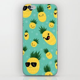 Pineapple Party iPhone Skin