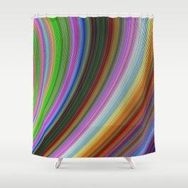 Bend Shower Curtain