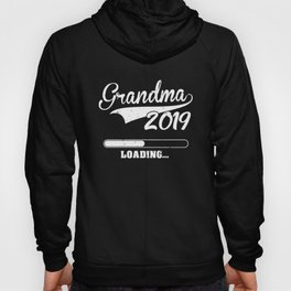 Promoted to Grandma Est 2019 Becoming Granny Gift Hoody