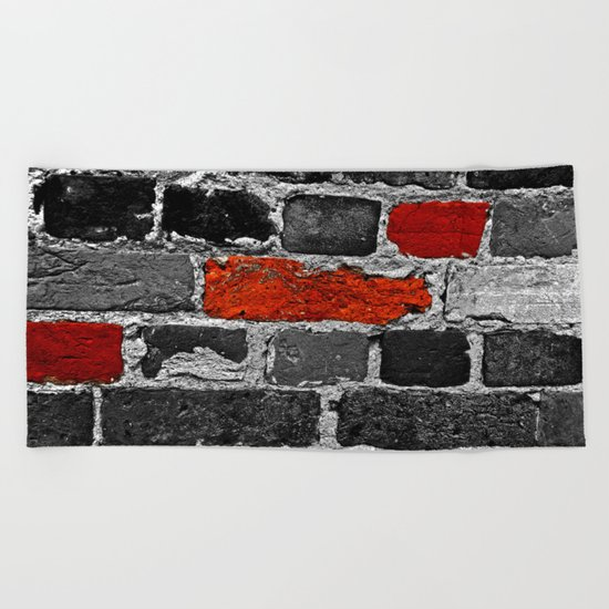 OTHER BRICKS IN THE WALL Beach Towel