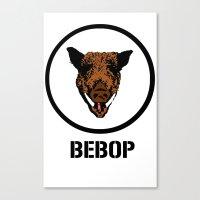bebop Canvas Prints featuring Bebop | TMNT by Silvio Ledbetter