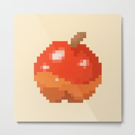 Pixel Art Apple | Animal Villager Metal Print