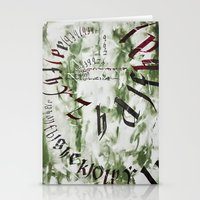 typo Stationery Cards featuring typo by Ferdane Aydın