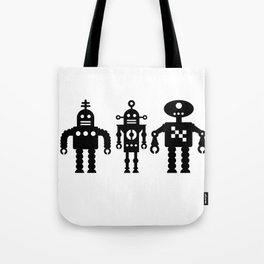 Three Robots by Bruce Gray Tote Bag