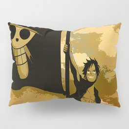 mugiwara boshi luffy Pillow Sham