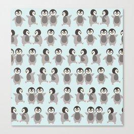 Just penguins Canvas Print