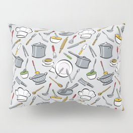 Chef's Tools Pillow Sham