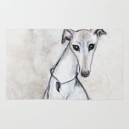 The Greyhound Wearing His Thorn Rug