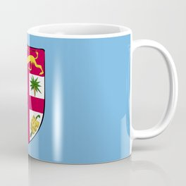 Fiji flag emblem Coffee Mug