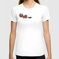 beaver T-shirts featuring Beaver by ValD