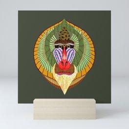 Mandrillus Sphinx Mini Art Print
