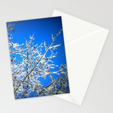 White Branches, Blue Sky Stationery Cards