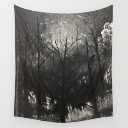 Moonlit Whispers Wall Tapestry