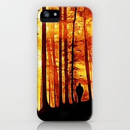 Conversing with Ancients  iPhone Case