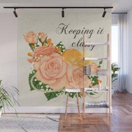 Flower bouquet | Keeping it classy Wall Mural