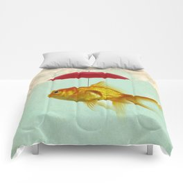 under cover goldfish 02 Comforters