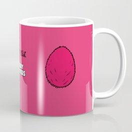 Pink Egg Coffee Mug
