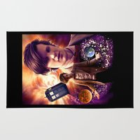 doctor who Area & Throw Rugs featuring Doctor Who by MeadowHaven ~ Adele Lorienne