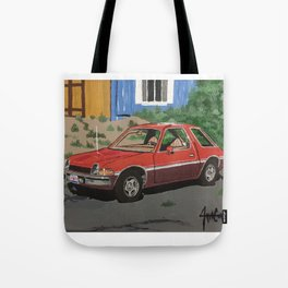 AMC pacer painting Tote Bag