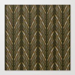 Wheat Grass Green Canvas Print