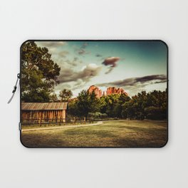 Southwest Chimney Rock Vortex Sedona Arizona Laptop Sleeve