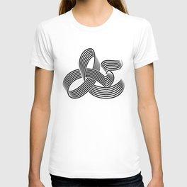 Eye bending Ampersand. T-shirt