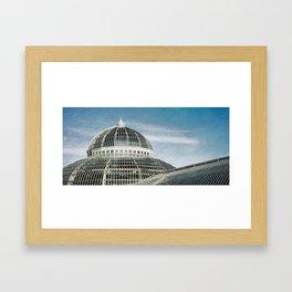Dome Patterns Framed Art Print