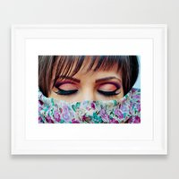 make up Framed Art Prints featuring Make Up by Eduard Leasa Photography