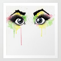 rasta Art Prints featuring Rasta Sight by art by jv