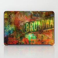broadway iPad Cases featuring Slice of Broadway by Ganech joe