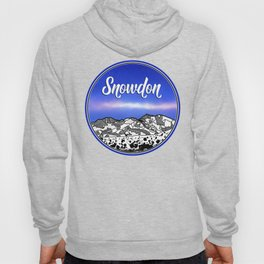 Mount Snowdon Wales Hoody