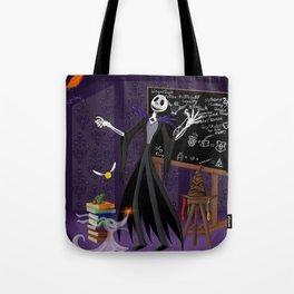 Nightmare at Hogwarts Tote Bag