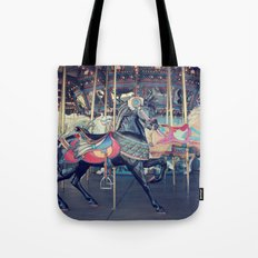 Black Stallion! Tote Bag
