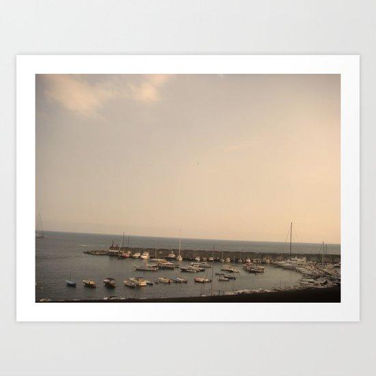 amalfi 316 Art Print