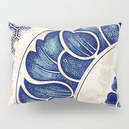 Blue Oriental Vintage Tile 05 Pillow Sham