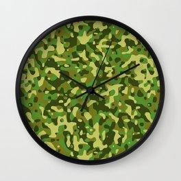Flecktarn Jungle Camo Wall Clock