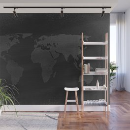 Retro world map Wall Mural